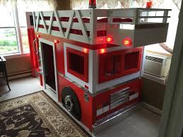 fire truck loft bed 8 best fire truck bunk bed images on double deck bed