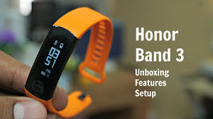 Honor Band 3 Unboxing, Setup, Connect ...