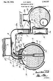 crosley icyball fig 1 is an overall cross sectional diagram fig 2 4 are external features and construction fig 5 7 are charging and operational diagrams