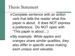 comparison contrast essay ppt video online  3 thesis statement