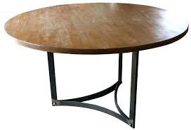 round table base ideas round metal table base casual style bistro design with cappuccino finish round table base ideas
