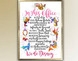 disney office decor. in thisoffice we do disney art gift for her home decor office