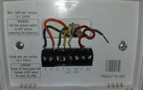 make my wife happy thermostat wiring question doityourself com make my wife happy thermostat wiring question