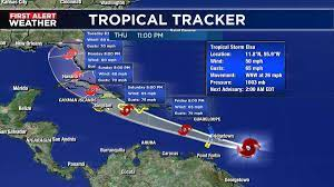 Elsa holding its course; Dominican ...