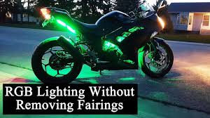 How To Install Led Lights On A Motorcycle Pwnsjones How To Install Motorcycle Led Lights Without Removing Fairings