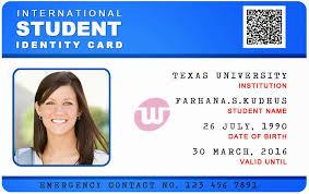 Identity Card Format For Student School Id Cards Templates Under Fontanacountryinn Com