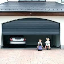 manually open garage door with broken spring