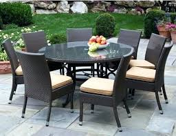 Round Outdoor Patio Tables Round Outdoor Patio Table And Chairs