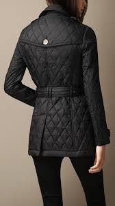 Burberry Heritage Diamond Quilted Coat in Black | Lyst & Gallery. Women's Quilted Coats Adamdwight.com