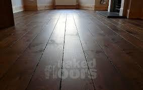 dulwich south east london distressed wide plank oak flooring