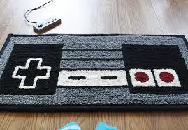 Soft and Dreamy Retro NES Nintendo Controller Rug from WTCrafts -  Freshome.com