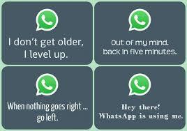 Ein Smarter Whatsapp Status Auf Englisch Gefällig Freewarede