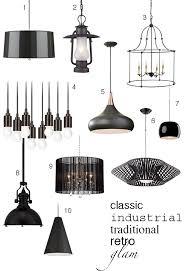 black pendant lighting. Marvelous Black Pendant Lights 6 Ways To Work Into Your Kitchen Decor Home Lighting