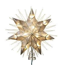 Shop Amazoncom  Christmas Tree TopperChristmas Tree Lighted Star