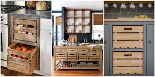Kitchen Drawers Wooden Crate Drawers Why Every Country Kitchen Needs One Of
