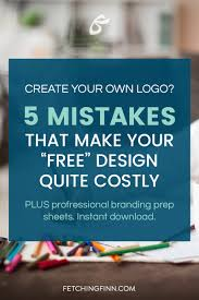 mistakes in creating your own logo fetching finn inc create your own logo 5 mistakes that make your design quite costly