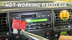 how to fix not working radio radio does not turn on how to fix not working radio radio does not turn on