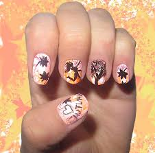 nail designs for fall 2014. romantic autumn fall nail art designs for 2014
