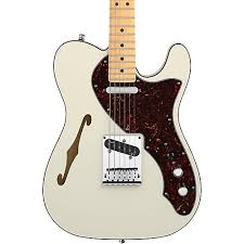 fender american deluxe telecaster thinline olympic white guitar hidden seo image