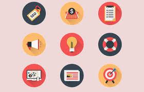 business flat icons basic icons flat icons 1000
