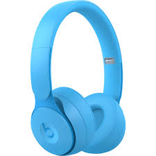 Beats Wireless Headphones White Light Beats By Dr Dre Solo Pro Wireless Noise Canceling On Ear Headphones Light Blue More Matte Collection