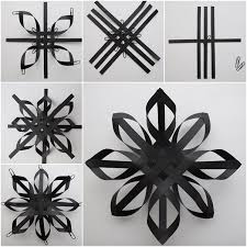 paper snowflakes 3d diy 3d lacey paper snowflakes tutorial video
