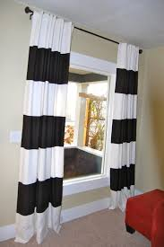 White And Black Curtains For Living Room Decoration Awesome Space Room With Laminated Floor And Black