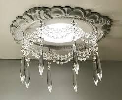 recessed light chandelier
