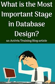 Database Design And Programming What Is The Most Important Stage In Database Design