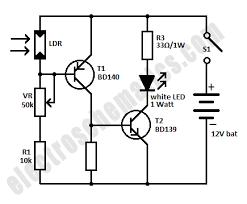 mini emergency led light circuit emergency led light circuit