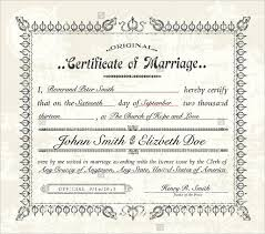 Certificate Of Birth Template New Marriage Certificate Templates Samancinetonicco