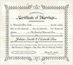 Certificate Of Birth Template New Marriage Certificate Templates Samancinetonicco