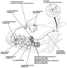 wiring and connectors locations of honda accord air conditioning honda accord air conditioner wiring harness