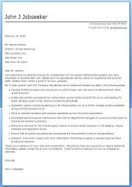Contract Administrator Cover Letter Sample Cover Letter Network