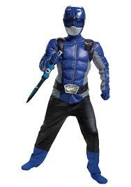 Light Blue Power Ranger Costume Kids Power Rangers Beast Morphers Blue Ranger Costume