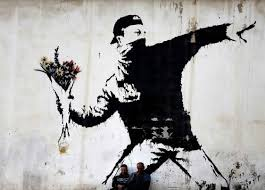 banksy has become one of the most famous yet anonymous street artists his works pop up in many cities worldwide and always create reactions  on most famous wall artist with banksy anonymity and art as political weapons agora paris saclay