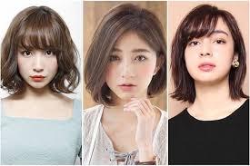 Potongan rambut pendek untuk wanita selanjutnya adalah shag lurus. 10 Model Rambut Sebahu Ala Korea Sesuai Bentuk Wajah Yang Stylish Dan Bikin Pangling Womantalk Com Line Today