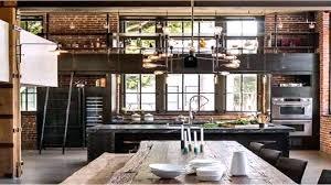 Modern Industrial Home Office Design Decor Rustic Style Interior Awesome Modern Industrial Home Decor Decor