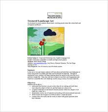 Elementary Art Lesson Plans Art Lesson Plan Template 10 Free Word Pdf Documents