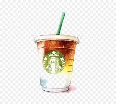 starbucks cup transparent background. Fine Background Coffee Latte Tea Starbucks  Watercolor Throughout Cup Transparent Background S