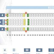 seat map airbus a340 600 etihad airways best seats in the plane business cl seating plan