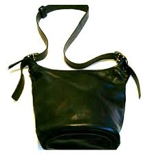 Coach Black Leather Bleeker Handbag G0793-11422