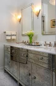 art deco bathroom furniture. Jessica Lagrange Interiors Gorgeous Art Deco Bathroom With Antiqued Mirror Furniture C