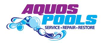 pool service logo. Aquos Pool Services Service Logo