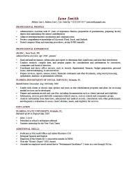 Personal Resume Examples New Personal Profile Resume Sample Personal Profile Resume Examples Nice