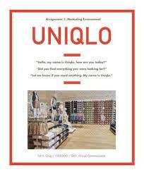 uniqlo executive industry report by nanji issaree issuu uniqlo marketing report
