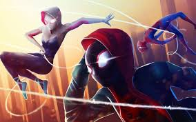 You guys can have a discussion about this and all i'm tired. Wallpaper Spider Man Into The Spider Verse Spider Gwen Miles Morales Spider Verse Spider Gwen Spiderman