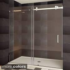 frameless sliding shower doors. Wonderful Doors Shop LessCare ULTRAB Semiframeless Sliding Shower Doors  Free Shipping  Today Overstockcom 9816377 For Frameless U