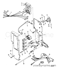 electrical components 1987 mariner outboard 75 [elo] 7075717 Wiring Harness Connectors at 50elpto Wiring Harness
