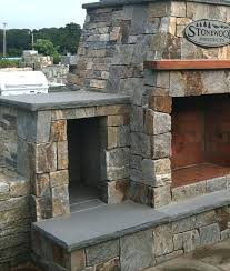 building a stone fireplace outside outdoor fireplace and seating if anyone